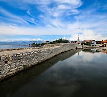 Bridge to Nin, Croatia by Zsolt-Tibor Szabó