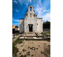 Church of the Holy Cross, Nin (9th century) Photographic Print