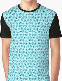 Swallow birds in flight Graphic T-Shirt