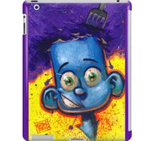 CUTE KID - COOL BLUE iPad Case/Skin