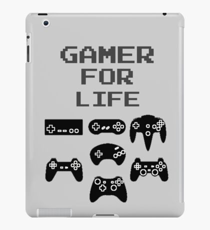 Gamer For Life ( Tablet Cases )  iPad Case/Skin