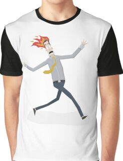 Fire Man Graphic T-Shirt