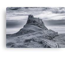 The Castle  Holy Island Metal Print