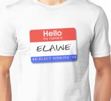 Re-Elect Dinkins - Elaine Unisex T-Shirt