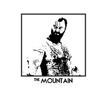 The Mountain Inspired Artwork 'Game of Thrones' Photographic Print