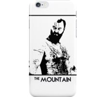 The Mountain Inspired Artwork 'Game of Thrones' iPhone Case/Skin