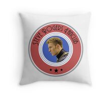 Steve Rogers fanclub Throw Pillow