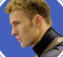 Steve Rogers fanclub Sticker