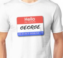 Re-Elect Dinkins - George Unisex T-Shirt