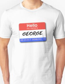Re-Elect Dinkins - George T-Shirt
