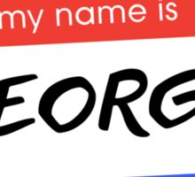 Re-Elect Dinkins - George Sticker