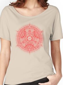 Human Transmutation Circle - Red Women's Relaxed Fit T-Shirt