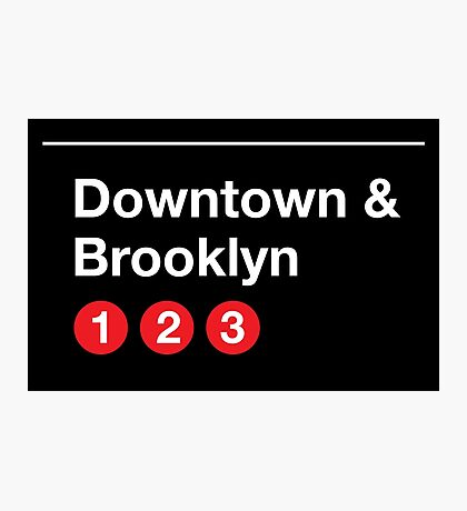Downtown & Brooklyn Photographic Print
