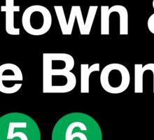 Uptown & The Bronx Sticker