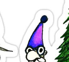 Christmas Tree Gnomes Sticker