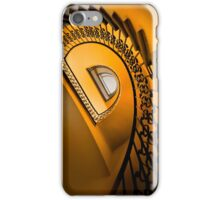 Golden staircase iPhone Case/Skin