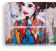 Melbourne Geisha Canvas Print