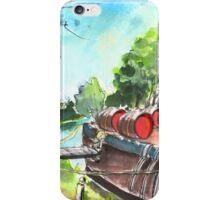 Old Wine Barge By Narbonne iPhone Case/Skin