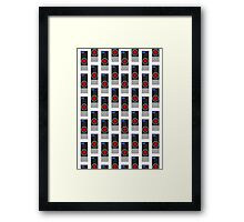 HAL-9000 Repeating Pattern Framed Print