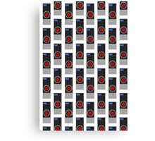 HAL-9000 Repeating Pattern Canvas Print