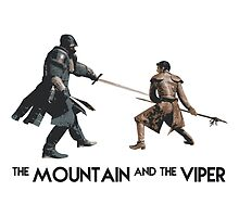The Mountain and the Viper Inspired Artwork 'Game of Thrones' by ComedyQuotes