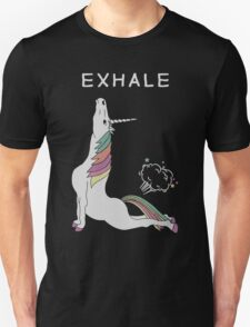 Unicorn - Exhale T-Shirt Unisex T-Shirt