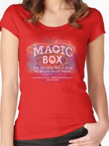 The Magic Box - For all your Occult Needs Women's Fitted Scoop T-Shirt
