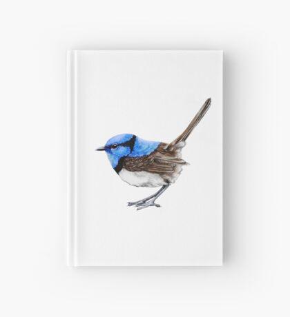 Little Wren on White Hardcover Journal