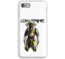 LokiPrimeLogo iPhone Case/Skin