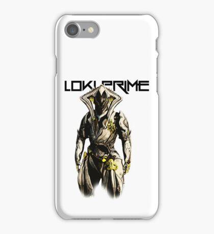 LokiPrimeLogo iPhone Case/Skin