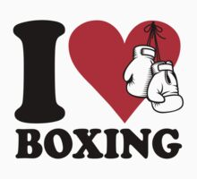 I love boxing One Piece - Short Sleeve