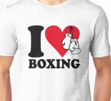 I love boxing Unisex T-Shirt