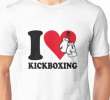 I love kickboxing Unisex T-Shirt