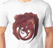 Curling - Welsh dragon Unisex T-Shirt