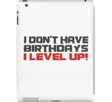 Video Games Gamers Quotes Birthday Funny Quotes Cool iPad Case/Skin