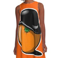 Alex DeOrange A-Line Dress