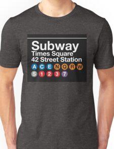 NYC Subway Unisex T-Shirt