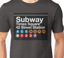 NYC Subway Unisex T-Shirt