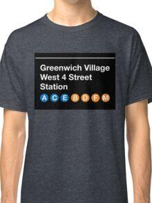 Greenwich Village Station Classic T-Shirt