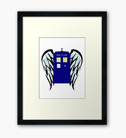 The Angels Have The Phone Box Framed Print