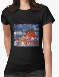 Phoenix at Rest by Darryl Kravitz Womens Fitted T-Shirt