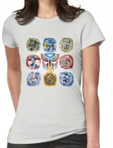 Autobots Prime- Collection Womens Fitted T-Shirt