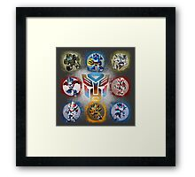 Autobots Prime- Collection Framed Print