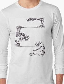 Lines like Vines Long Sleeve T-Shirt