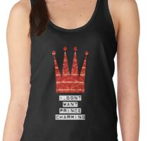 I DON´T WANT PRINCE CHARMING Women's Tank Top