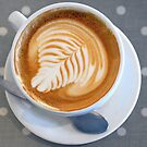 Art in a cup of cappuccino by Arie Koene
