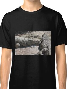 crocodile at the zoo Classic T-Shirt