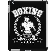 Boxing Club iPad Case/Skin