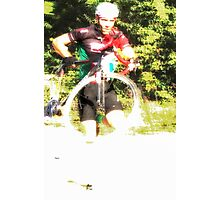 The Running Cycle  Photographic Print