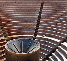 Steps in an amphitheater ? by Arie Koene